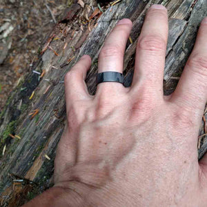 The Ranger Ultralight Men's Carbon Fiber Engagement Ring