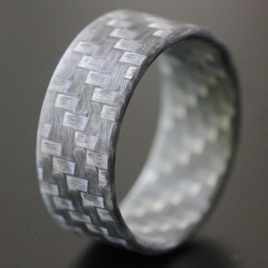 The silver twill ultralight texalium ring