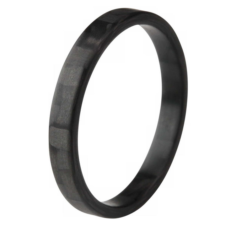 Carbon Fiber Stackable Ring