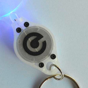 UV keychain light