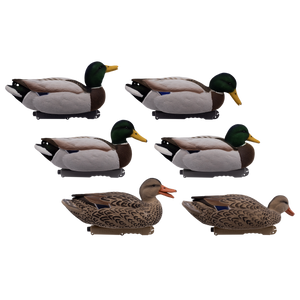 Live Fully Flocked Mallard Floaters 6 Pack