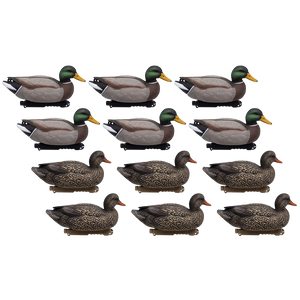 Last Pass Mallard Floaters, 12 Pack