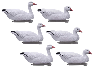 HD Snow Goose Floaters - 6 Pack