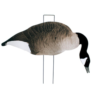 Last Pass Honker Silhouette Decoys with Flocked Heads, 12 Pack
