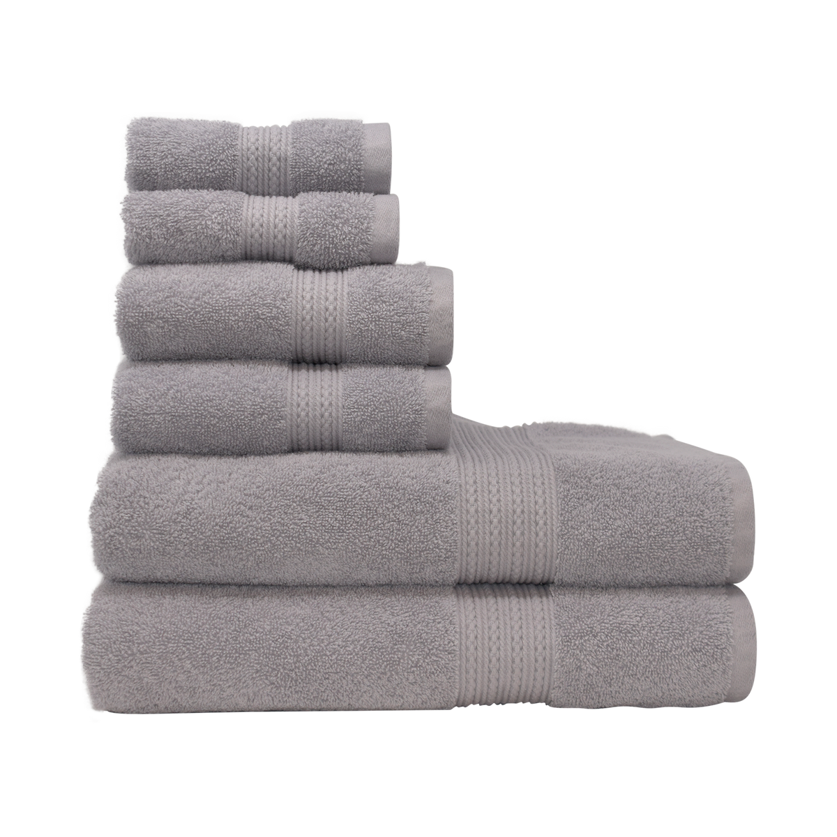 Braid Turkish Towels in Marble Grey Canada
