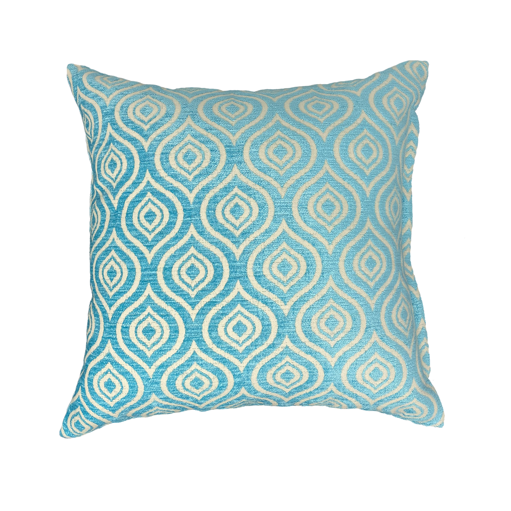 Teal Decorative Pillow Cover | Skylark+Owl Linen Co.