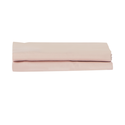 Refined Collection Sateen Pillowcases in Dusty Rose | Skylark+Owl Linen Co.
