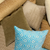 Ripple Decorative Pillow Cover in Aurora | Skylark+Owl Linen Co.