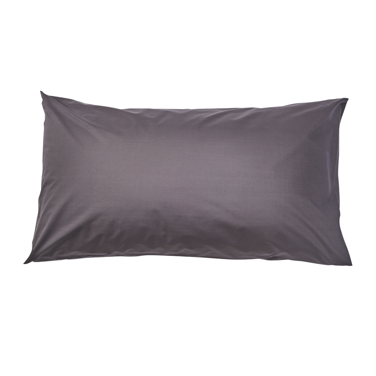Essential Collection Percale Pillowcases in Charcoal | Skylark+Owl Linen Co.