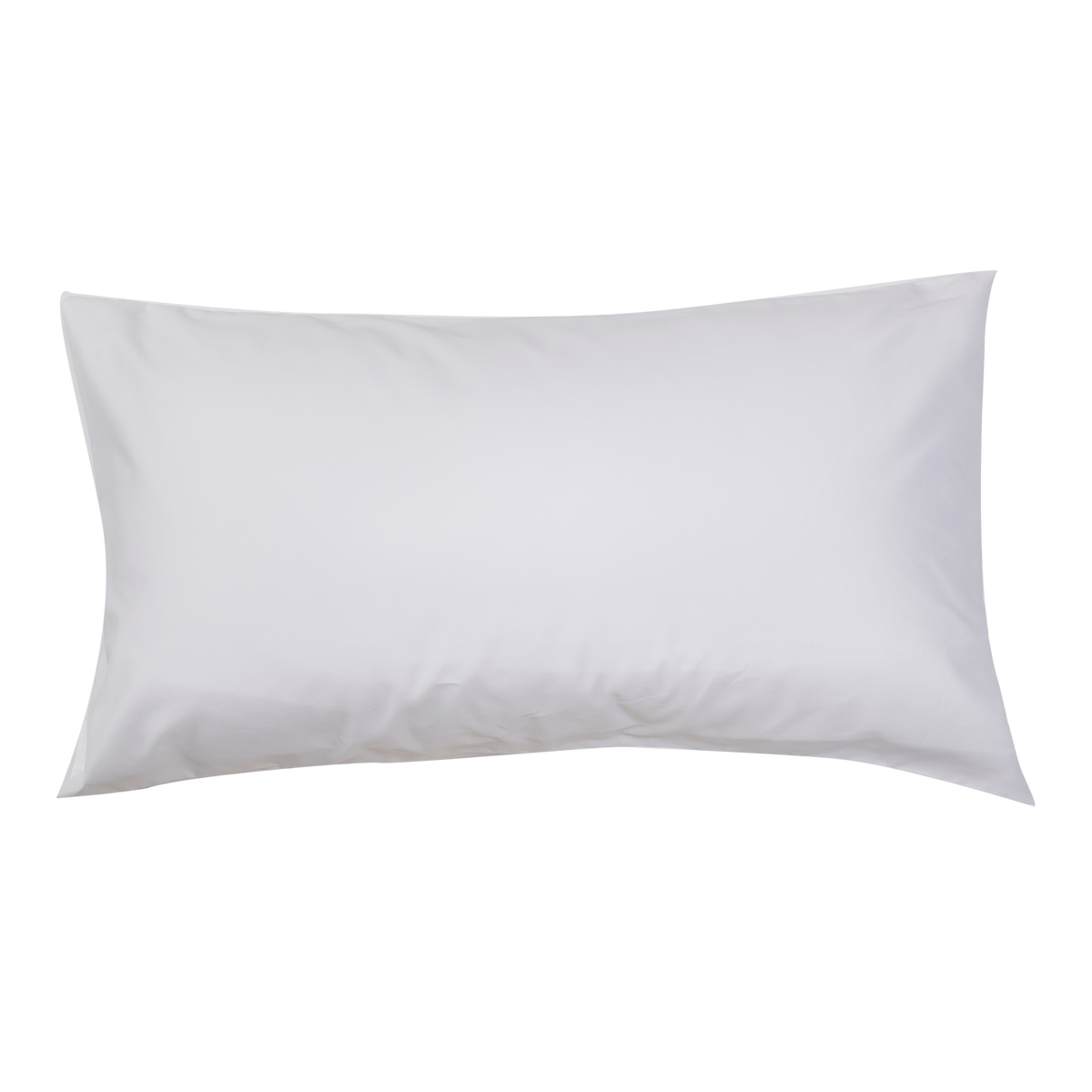 Essential Collection Percale Pillowcases in White | Skylark+Owl Linen Co.