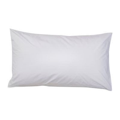 Refined Collection Sateen Pillowcases in White | Skylark+Owl Linen Co.