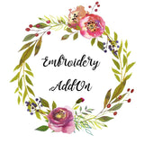 Embroidery Add On