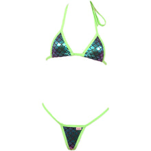 Micro Scale Bikini Top and G-String