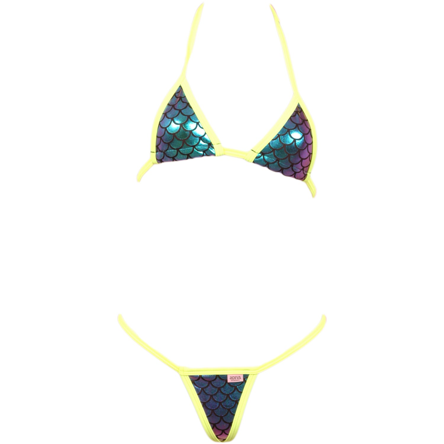 fc6792e4053 Micro Scale Bikini Top and G-String – Adiva Intimates