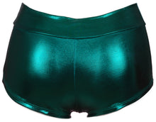 Lame Banded Boyshort - Green