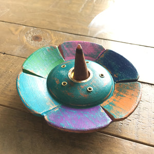 Boho Patchwork Incense Holder