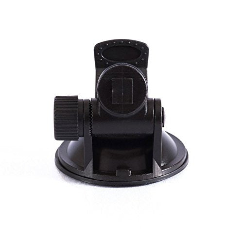 Low Profile Suction Cup 360 Degree Swivel Action Mount Black (PANOGSK) for Street Guardian SGZC12SG SGZC12SS & SG9665XS (Extra Short Stealth)