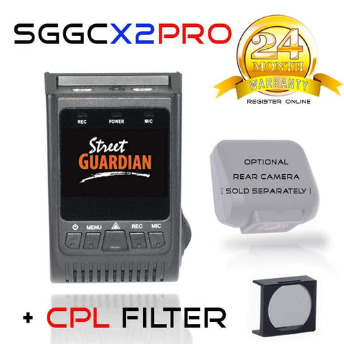 Street Guardian SGGCX2PRO Dash Camera