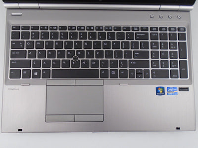 "HP EliteBook 8570p 15.6"" i5-3340M 2.7GHz 4GB RAM 500GB HDD Win 10 Pro"