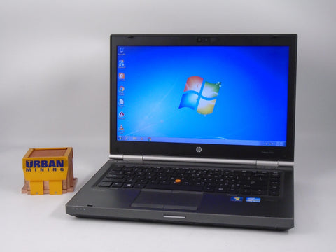 HP Elitebook 8470W i7-3630QM 2.4 GHz 4 GB RAM 320 GB HDD Windows 7 Pro