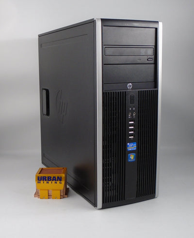 HP Compaq Elite 8200 Mini-Tower i7-2600 3.4GHz 8GB RAM 500GB HDD Win 10 Pro