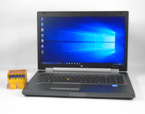 HP Elitebook 8770w i7-3740QM 2.7 GHz 16 GB RAM 320 GB HDD Windows 7 Professional