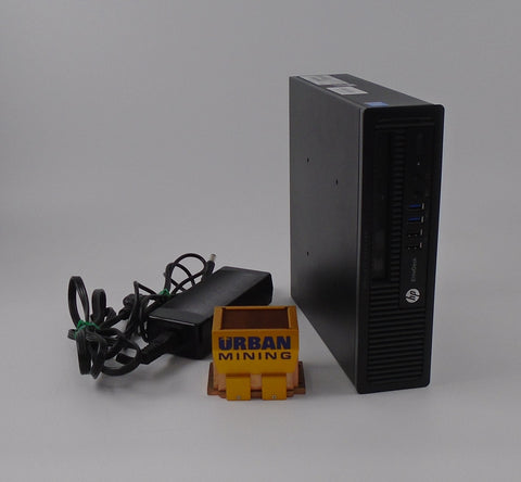 HP EliteDesk 800 G1 USDT i5-4590S 3.0GHz 8GB RAM 500 GB HDD Win 10 Pro