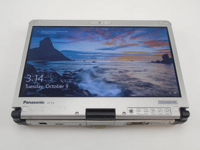 "Panasonic Toughbook CF-C2 12.5"" Touchscreen i5-4300U 1.9GHz 4GB RAM 500GB HDD Win 10 Pro"