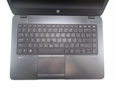 "HP ZBook 14"" i7-5500U 2.4GHz 8GB RAM 256GB SSD Win 10 Pro"