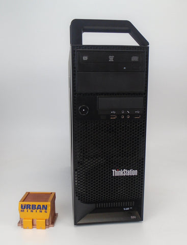 Lenovo ThinkStation S30 Tower Xeon E5-1607 3.0GHz 8GB RAM 1TB HDD Win 10 Pro