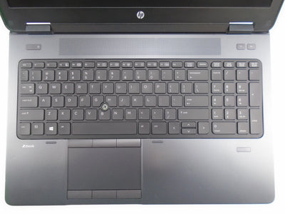 "HP ZBook 15 15.6"" i7-4810MQ 2.8GHz 16GB RAM 250GB HDD Win 10 Pro"