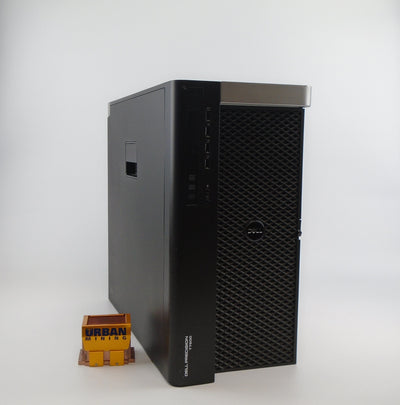 Dell Precision T7600 Mid Tower E5-2609 2.40GHz 8GB RAM 500GB HDD Win 10 Pro