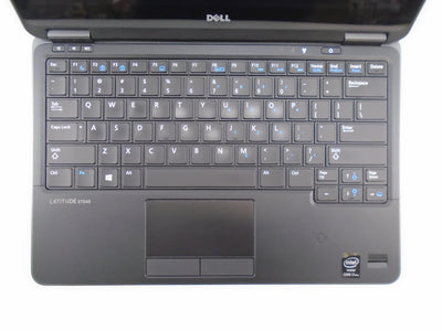 "Dell Latitude E7240 12.5"" Touchscreen i7-4600U 2.1GHz 8GB RAM 128GB SSD Win 10 Pro"