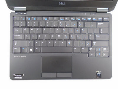 "Dell Latitude E7240 12.5"" i5-4300U 1.9GHz 4GB RAM 250GB SSD Win 10 Pro"