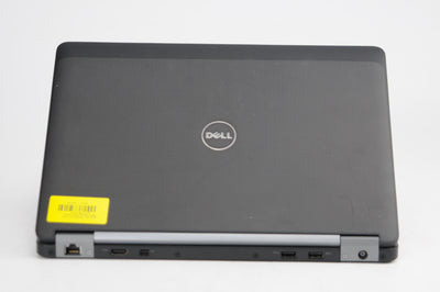 "Dell Latitude E7270 Touchscreen 12"" i7-6600U 2.6GHz 8GB RAM 256GB SSD Win 10 Pro"