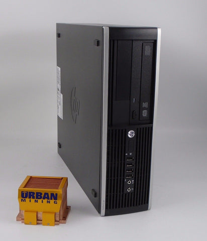 HP Compaq Elite 8300 SFF i5-3470 3.2GHz 4GB RAM 250GB HDD Win 7 Pro