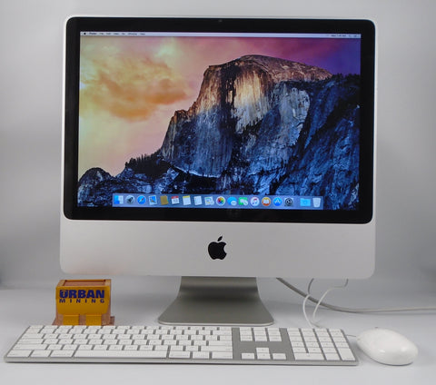 "Apple iMac 20"" A1224 Core 2 Duo 2.26GHz 2GB RAM 160GB HDD OSX Yosemite"