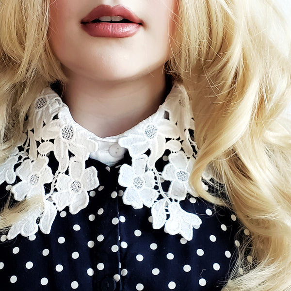 Flower Lace Collar