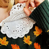 Layered Lace Collar