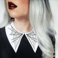 Spiderweb Collar - PLUS SIZE OPTIONS