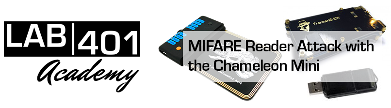 Chameleon Mini: Mifare Cracking via the Reader Attack
