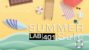 LAB401 annual summer sale - 10% OFF storewide use the code : summerlab2019