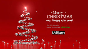 Lab401: Christmas & New Year Sale ! use the coupon code: LAB401XMAS