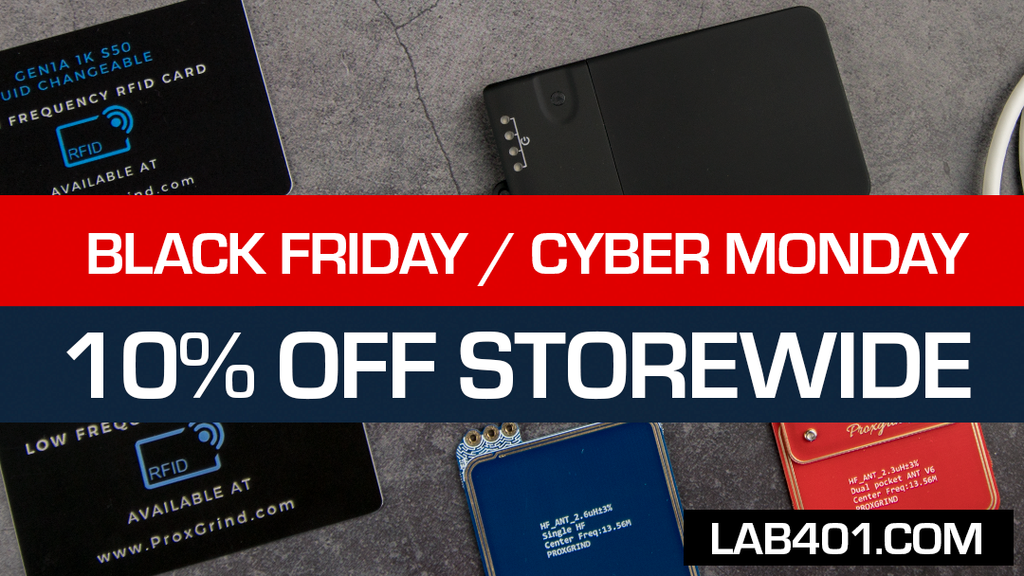 Black Friday / Cyber Monday Sales: 10% Store-wide for one week!