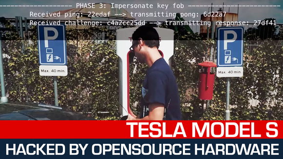 Tesla S hack powered by Open Source tools