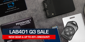 Lab401 Q3 Sale: New Products, New Support, Huge Discounts