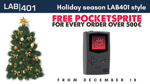 Free PocketSprites & Holiday Schedule