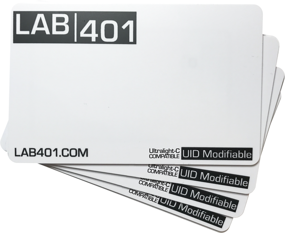 Ultralight-C Compatible UID Modifiable