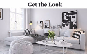 Get the Look! Scandinavian Living Room #1