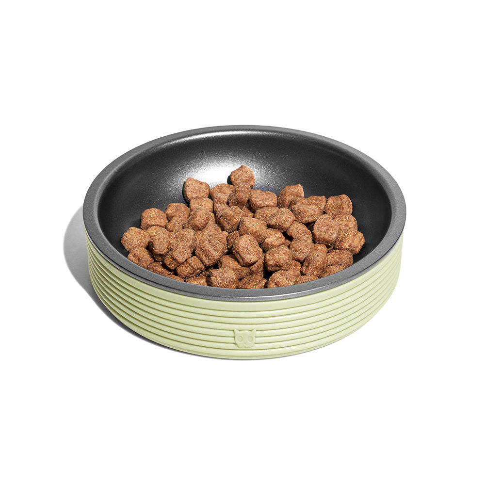 Zee.Cat - Duo Bowl Olive Kedi Mama Kabı